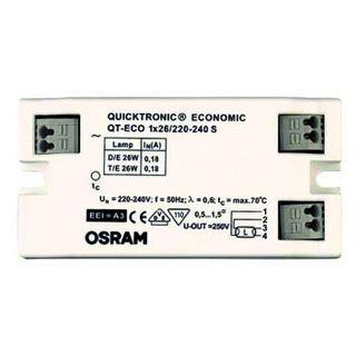 OSRAM Vorschaltgerät 1x26W 220-240V QT-ECO 1x26 S