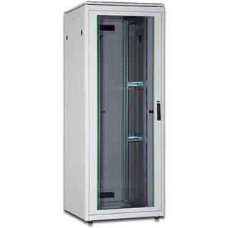 Digitus Serverschrank Network Cabinet mit Glastür 42 HE 800x800mm