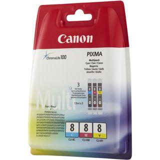 Canon Tinte CLI-8 Multipack 0621B036 cyan, magenta, gelb