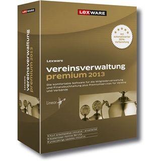 Lexware Vereinsverwaltung 2013 Premium 32/64 Bit Deutsch Office Vollversion PC (DVD)