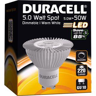 Duracell LED Lampe S-220L Warmweiß GU10 A