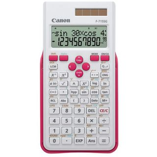 Canon F-715SG EXP DBL Taschenrechner weiß/magenta