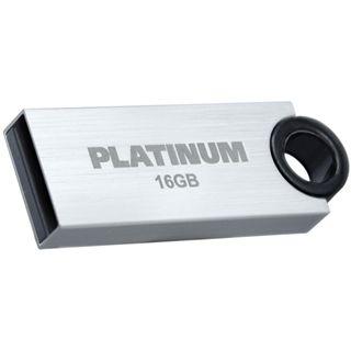 16 GB Platinum HighSpeed Slender silber USB 2.0