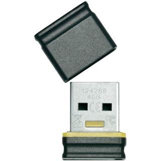 4 GB Platinum USB-Stick Mini schwarz/gelb USB 2.0