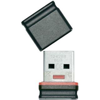 8 GB Platinum USB-Stick Mini rot/schwarz USB 2.0