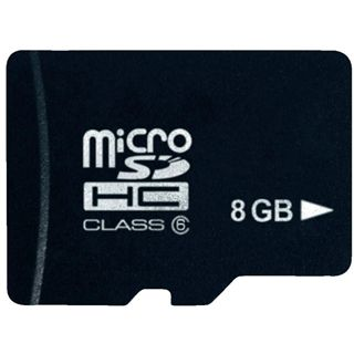 8 GB Platinum microSD Class 4 Retail
