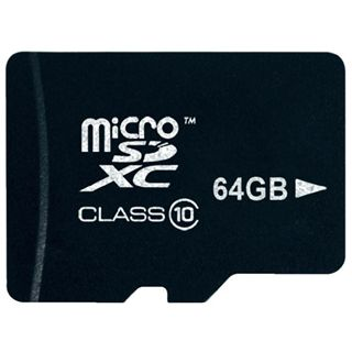 64 GB Platinum BestMedia microSDXC Class 10 Retail inkl. Adapter auf SD