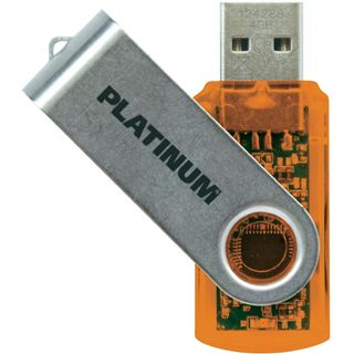 4 GB Platinum High Speed TWS orange USB 2.0