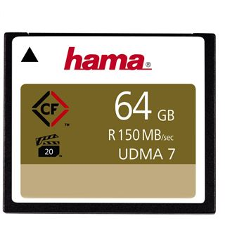 64 GB Hama Compact Flash TypI 1000x Retail