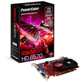 1GB PowerColor Radeon HD 6570 V2 Aktiv PCIe 2.1 x16 (Retail)