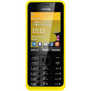 Nokia 301 Dual Sim gelb
