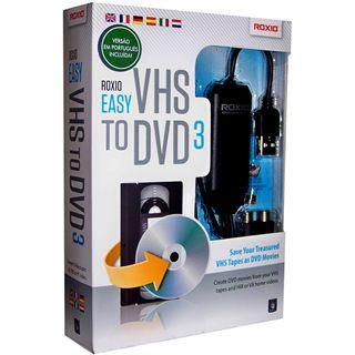 Roxio Roxio Easy VHS to DVD 3 32 Bit Deutsch Videosoftware Vollversion PC (DVD)