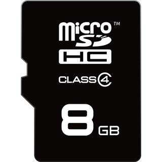 8 GB EMTEC microSDHC Class 4 Retail inkl. Adapter