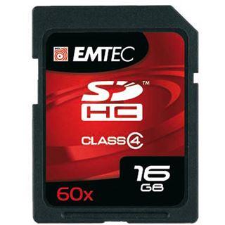 16 GB EMTEC New Pack SDHC Class 4 Retail
