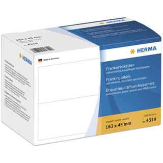 Herma 4319 doppelt Frankieretiketten 16.3x4.5 cm (1000 Stück)
