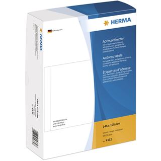 Herma 4332 einzeln Adressetiketten 13x8 cm (500 Stück )