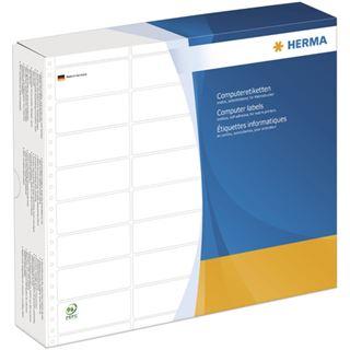Herma 8232 weiß Computeretiketten 10.16x3.57 cm (12000 Stück)