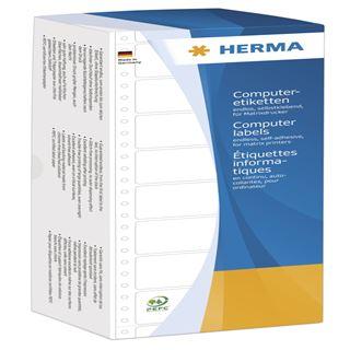 Herma 8296 weiß Computeretiketten 10.16x4.84 cm (3000 Stück)