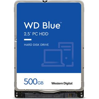 "500GB WD Blue WDBMYH5000ANC-ERSN 8MB 2.5"" (6.4cm) SATA 3Gb/s"