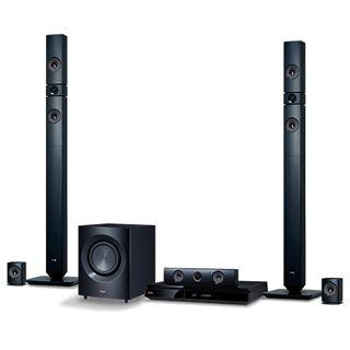 LG Electronics BH7430P 5.1 3D Blu-ray Heimkinosystem 1100W mit WLAN, Smart TV,