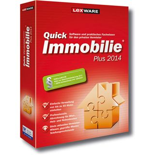 Lexware QuickImmobilie 2014 Plus 32 Bit Deutsch Office Vollversion PC (CD)