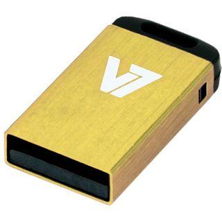 4 GB V7 Nano gelb USB 2.0