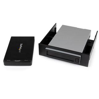 """Startech SAT2510U3REM 2.5"""" (6,35cm) USB 3.0 schwarz"""
