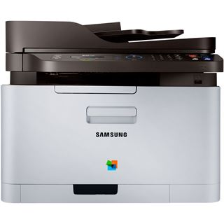 Samsung Xpress C460FW Farblaser Drucken/Scannen/Kopieren/Faxen LAN/USB 2.0/WLAN