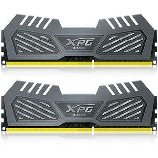 16GB ADATA XPG Gaming Series v2.0 grau DDR3-1600 DIMM CL9 Dual Kit