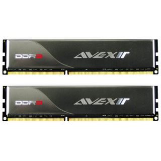 8GB Avexir Standard Series DDR3-1600 DIMM CL9 Dual Kit