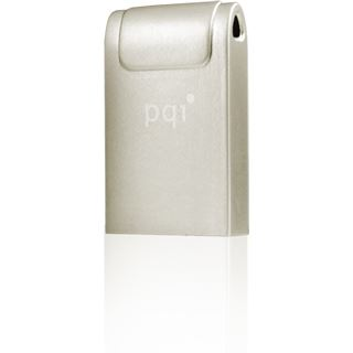 8 GB PQI ideal i-series i-Neck silber USB 3.0