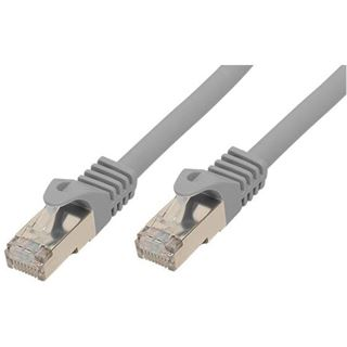 (€0,80*/1m) 30.00m Good Connections Cat. 7 S/FTP PiMF RJ45 Stecker auf RJ45 Stecker Grau halogenfrei