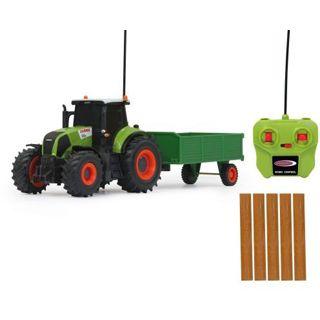 Jamara Claas Rc Axion JAM 1:28 Axion 850 Traktor m. Anhänger