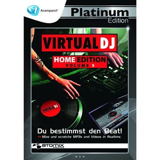 Avanquest Virtual DJ 5 Home Edition - Platinum Edition 32 Bit Deutsch Vollversion