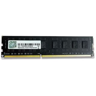 4GB G.Skill Value DDR3-1600 DIMM CL11 Single