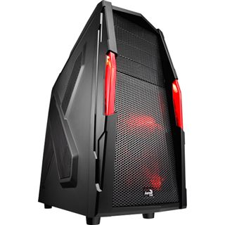 AeroCool Strike-X Xtreme Black Edition Midi Tower ohne Netzteil schwarz