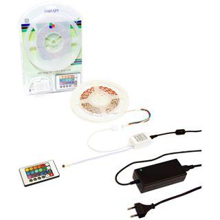 LogiLight LED-Lichtband, RGB-Farben, für innen/außen, 5,0 m