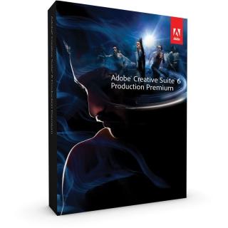Adobe Creative Suite 6.0 Production Premium Englisch nur Datenträger PC (DVD)