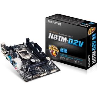 Gigabyte GA-H81M-D2V Intel H81 So.1150 Dual Channel DDR3 mATX Retail