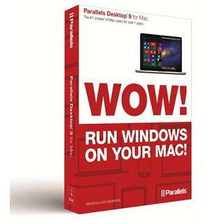 Parallels Desktop 9 for Mac 32/64 Bit Multilingual Utilities Retail Mac (Lizenz)
