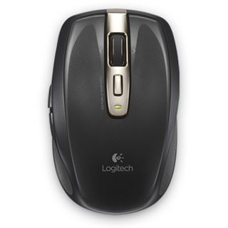 Logitech Anywhere Mouse MX refresh bulk USB schwarz (kabellos)