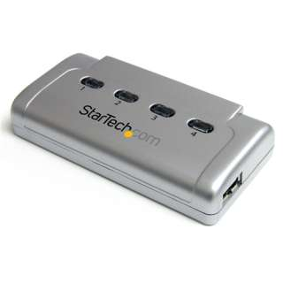 Startech USB421HS 4-fach USB 2.0 Sharing Switch