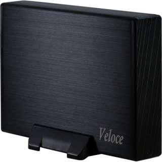"Inter-Tech Veloce GD-35612 3.5"" (8,89cm) USB 3.0 schwarz"