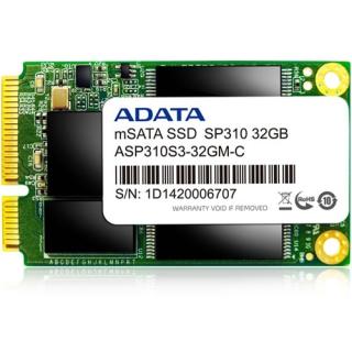 32GB ADATA Premier Pro SP310 mSATA 6Gb/s MLC (ASP310S3-32GM-C)