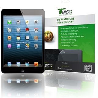 TBIGG Panzerfolie für Apple iPad2,iPad3 und iPad4