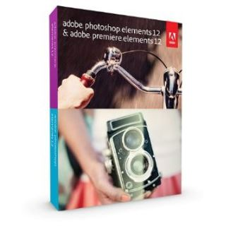 Adobe Photoshop Elements 12.0 und Premiere Elements 12.0 32/64 Bit Deutsch Grafik Update PC/Mac (DVD)