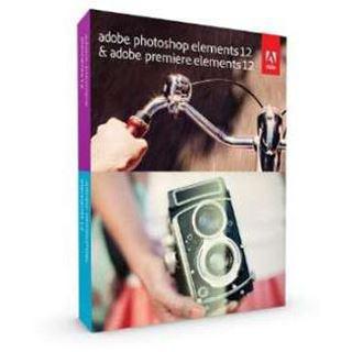 Adobe Photoshop Elements 12.0 und Premiere Elements 12.0 32/64 Bit Englisch Grafik Upgrade PC/Mac (DVD)