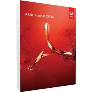Adobe Acrobat Pro 11 Englisch nur Datenträger PC (DVD)