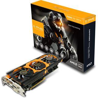 3072MB Sapphire Radeon R9 280X Toxic Aktiv PCIe 3.0 x16 (Full Retail)