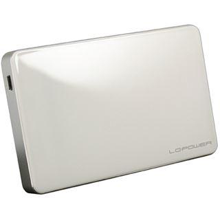 """LC-Power LC-25U3W-Elektra 2.5"""" (6,35cm) USB 3.0 weiss"""